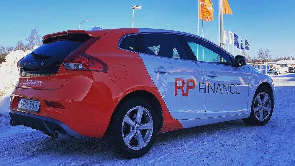 Wrap och bildekor RP Finance