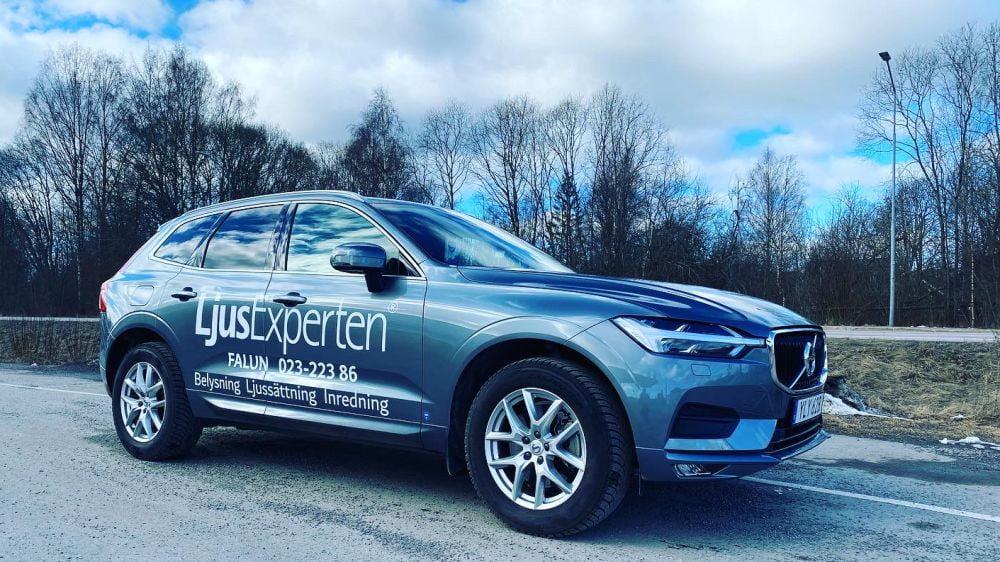 Bildekor Volvo Ljusexperten