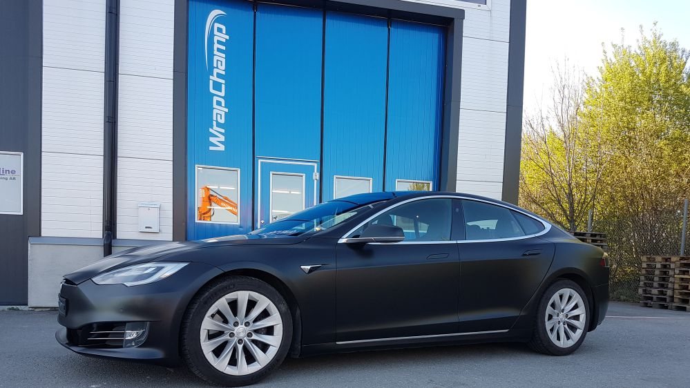 Fullwrap Tesla i Uppsala