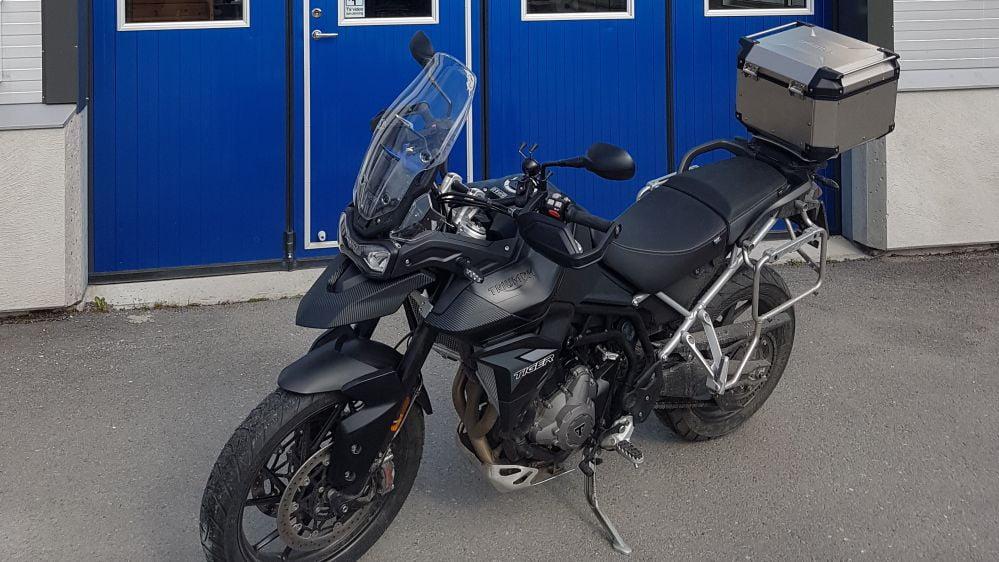 Fullwrap Motorcykel i Uppsala